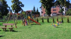 Place zabaw w Jantarze